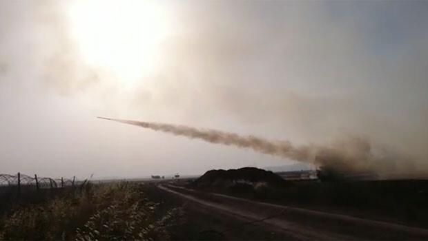 Son Dakika Haberi: TSK, IŞİD'i vurdu... Cephanelik havaya uçuruldu