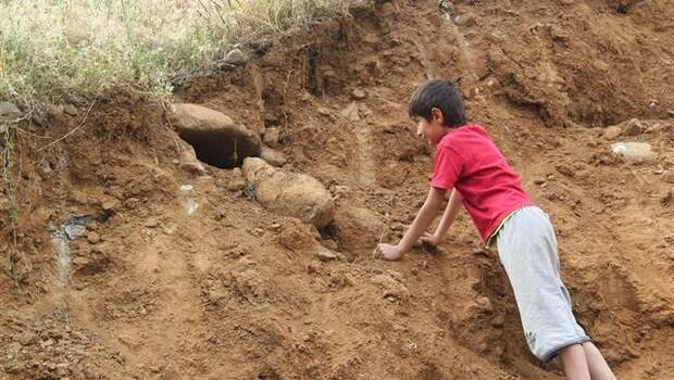 Bingöl'de eski mezarlar bulundu