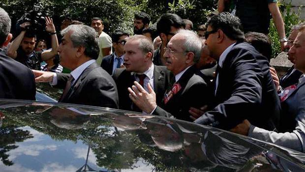 Kılıçdaroğlu'na mermi kovanı atıldı