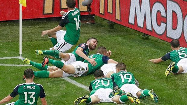 Ukrayna 0-2 Kuzey İrlanda / MAÇIN ÖZETİ