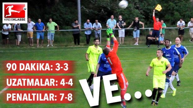 Nürnberg SC Türk-Genç penaltılar kurbanı
