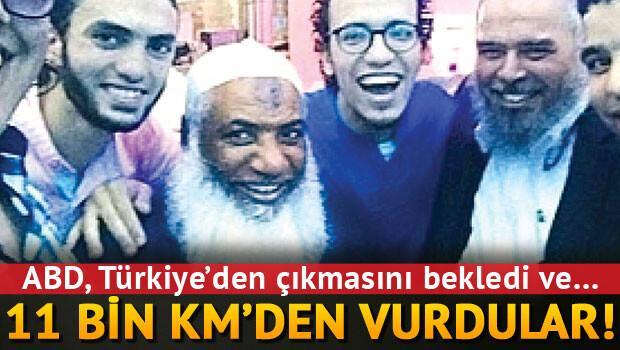 Türkiye'den gitti Suriye'de vuruldu