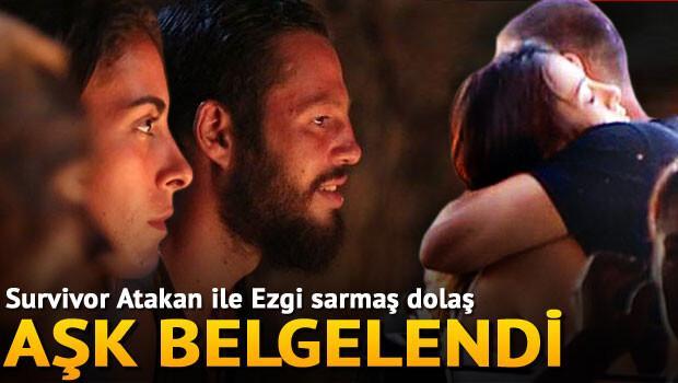 Survivor Atakan ile Ezgi'nin aşkı belgelendi