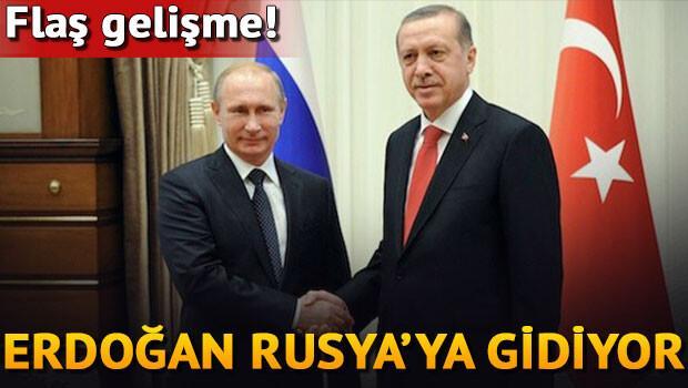 Cumhurbaşkanı Erdoğan 9 Ağustos'ta Rusya'ya gidiyor