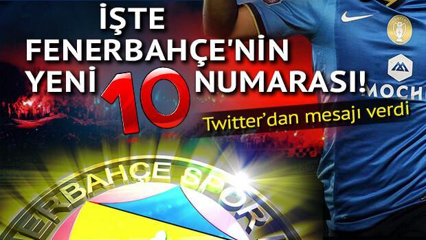 İşte Fenerbahçe'nin yeni 10 numarası!