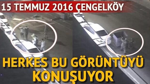 Çengelköy'deki vahşetin görüntüleri güvenlik kamerasında