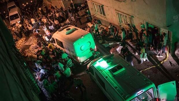 Son Dakika: Gaziantep'de düğünde patlama