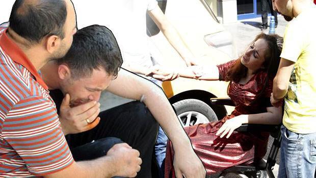 Gelin yeniden hastaneye kaldırıldı, damat gözyaşlarına boğuldu
