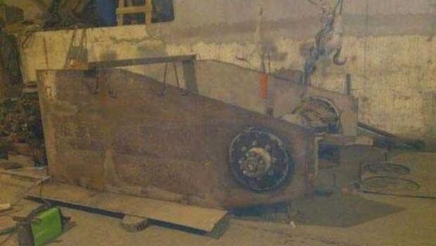 Rus mühendisin kendi başına yaptığı tank şaşkına çevirdi