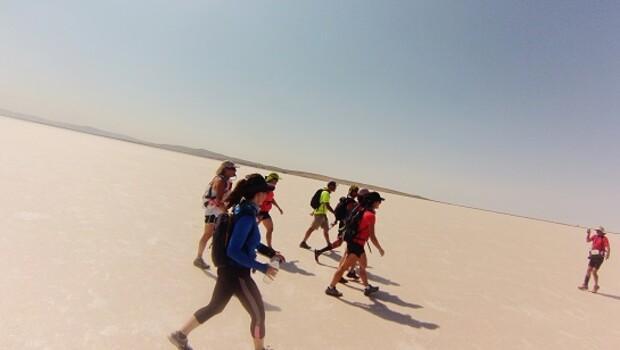 Tuz Gölü'nde korkularıma doğru koşmak
