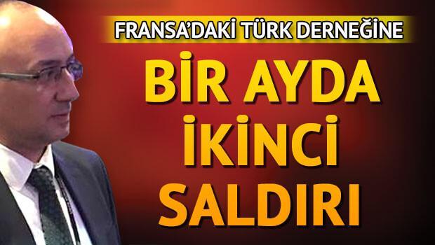 Türk derneğine bir ayda 3 saldırı