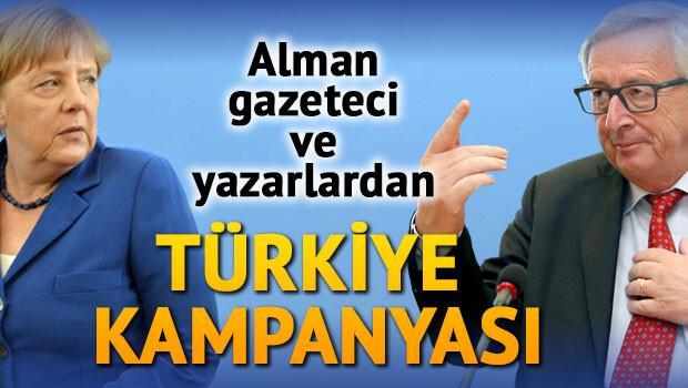 Alman gazeteci ve yazarlardan Türkiye kampanyası