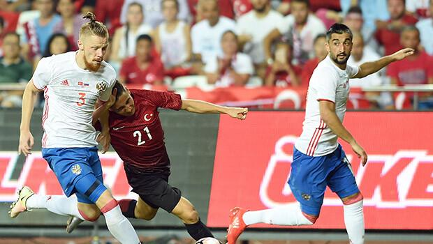 Türkiye 0-0 Rusya / MAÇ ÖZETİ