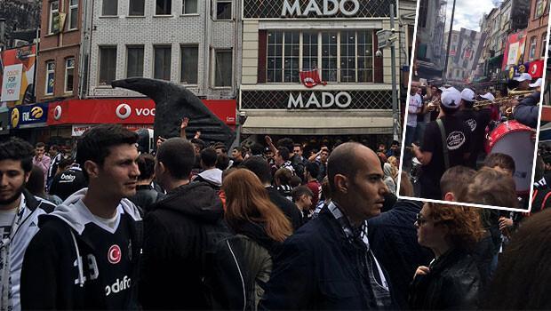 Beşiktaş'ta derbi coşkusu!