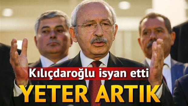 Kılıçdaroğlu teröre isyan etti: Yeter diyoruz artık