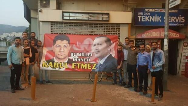 AK Partili gençlerden Çiğli Belediyesi'ne tepki