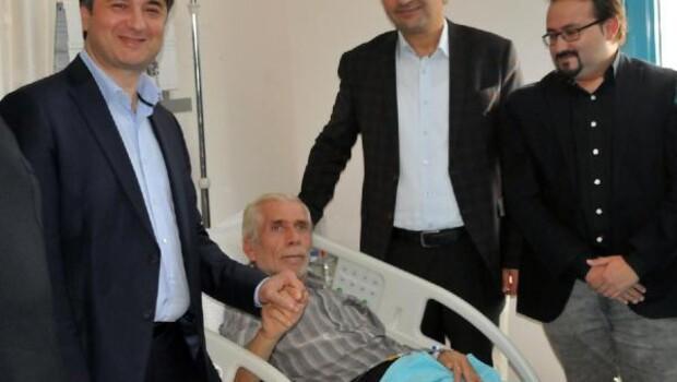 Yalova'da ilk açık kalp ameliyatı Suriyeli sığınmacıya yapıldı