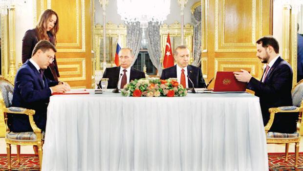Tarihi imza: 'Türk Akımı'nda anlaşma tamam, Rus gazı doğrudan Türkiye'ye gelecek