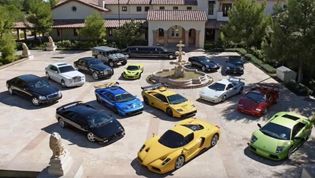 Bill Gatesin otomobil koleksiyonu