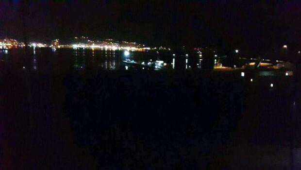 Kuru yük gemisi Ereğli açıklarında yan yattı - fotoğraf