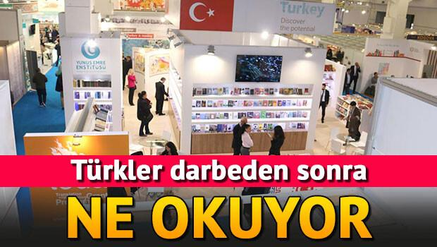 Türkler darbeden sonra hangi tür kitapları okuyor