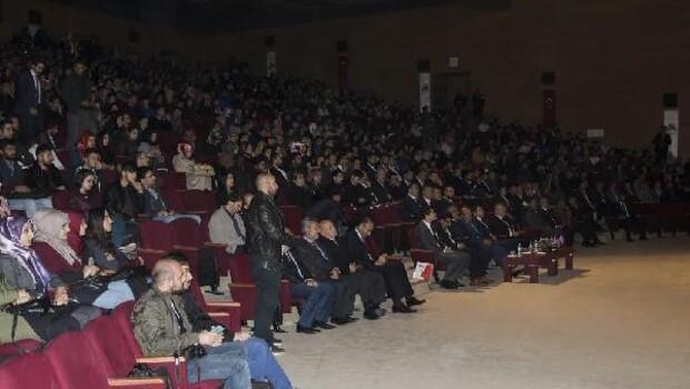 İbrahim Çeçen Üniversitesinde konferans
