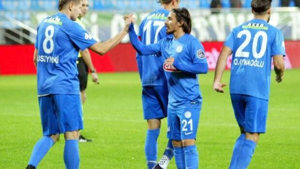 Çaykur Rizespor - Fethiyespor: 3-0 (Ziraat Türkiye Kupası)