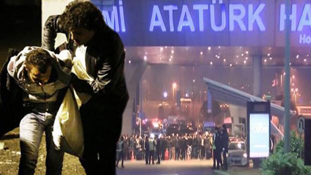 Atatürk Havalimanında silah sesleri
