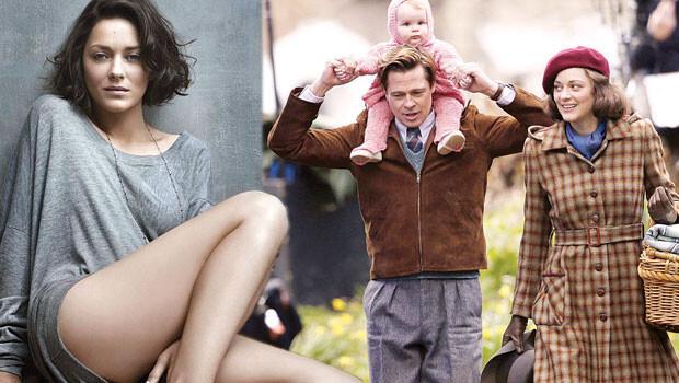 Marion Cotillard ve Brad Pitt: Bir romanın söylentileri 2