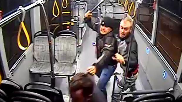 Otobüse binemediği için saldırmış