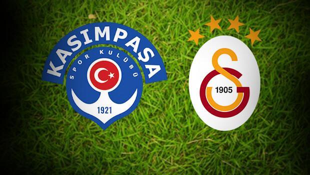 Kasımpaşa Galatasaray maçı ne zaman, saat kaçta oynanacak İstatistikler ve ilk 11ler