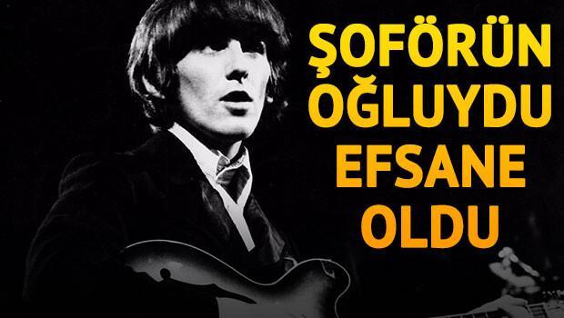 O bir müzik efsanesi: George Harrison