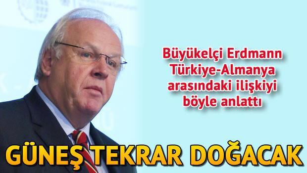 Büyükelçi Erdmann: Almanya, Türkiye'ye yatırımda lider konumunda