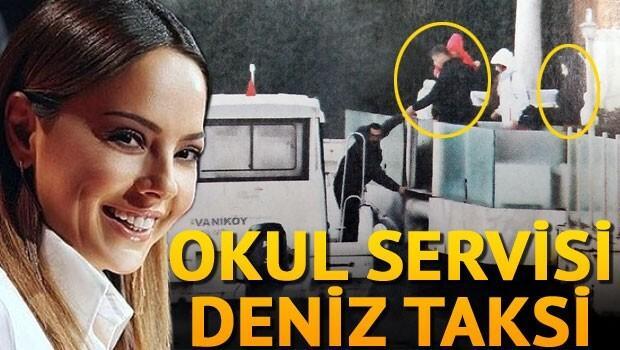 Ebru Gündeş deniz taksi kullanmaya başladı