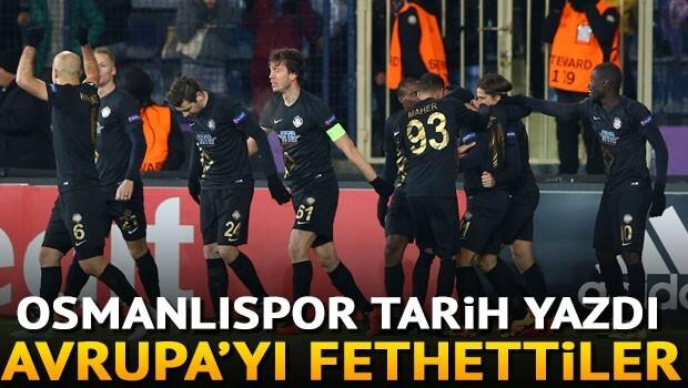 Osmanlıspor 2-0 Zürih / MAÇIN ÖZETİ