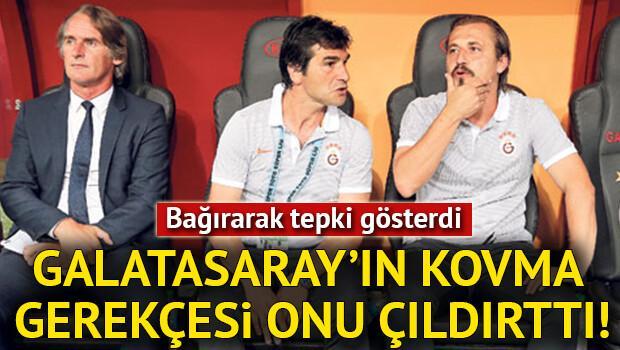 Galatasarayda şok ayrılık... Görevine son verildi, tepki gösterdi