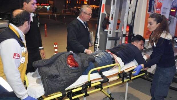 Kuaföre pompalı saldırı: 2 yaralı