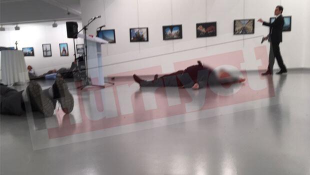 Son dakika: Rusya Büyükelçisi Ankara'da silahlı suikasta uğradı