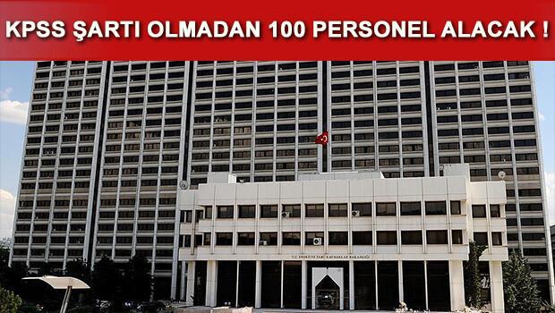 Enerji Bakanlığı KPSS şartı olmadan 100 personel alımı yapacak
