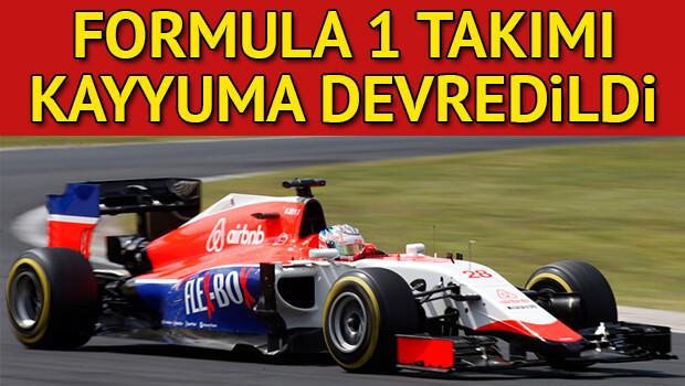 Formula 1 takımı kayyuma devredildi
