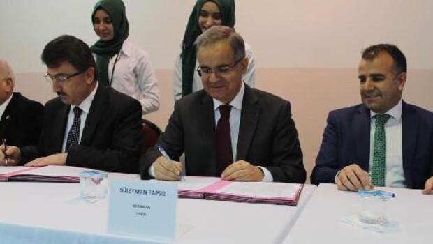 Meslek ve Teknik Eğitim İşbirliği protokolü imzalandı