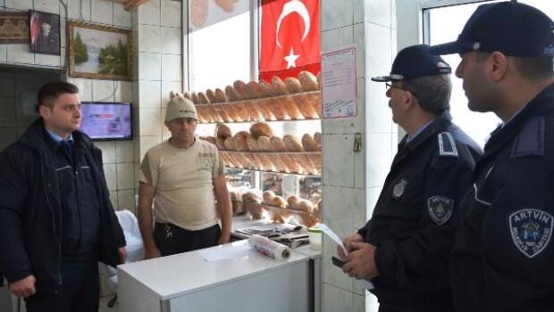 Artvin Belediyesi Zabıta Müdürlüğü fırın denetimlerine başladı