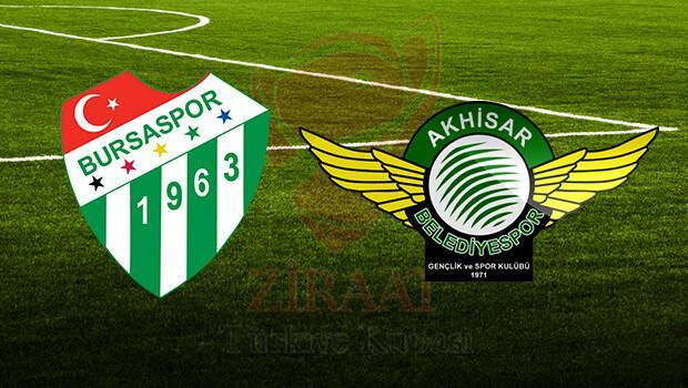 Bursaspor Akhisar Belediyespor maçı ne zaman saat kaçta hangi kanalda?