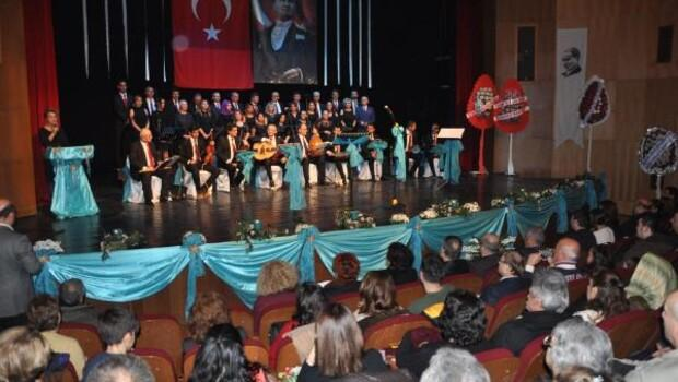 Bartında İl Kültür Turizm Türk Sanat Müziği Korosu konseri