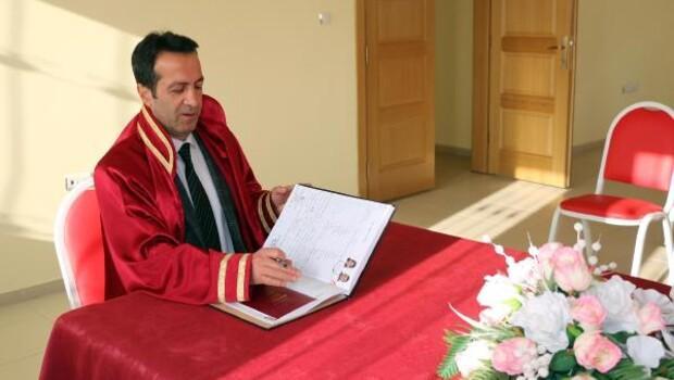 Bitlis'te 2016da 320 çift evlendi