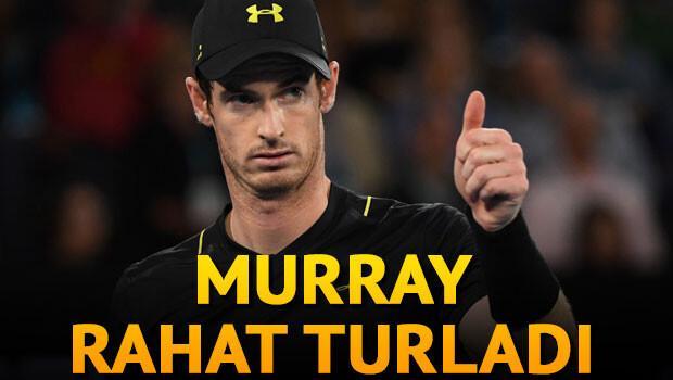 Murray zorlanmadan 3. turda