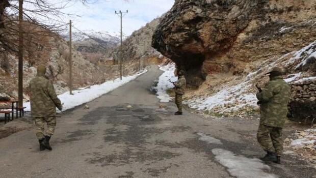 Adıyaman kırsalında görülen PKKlılara operasyon başlatıldı - ek fotoğraflar