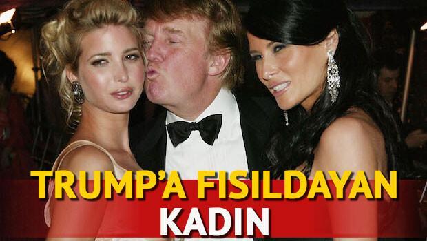 Trump'a fısıldayan kadın: Ivanka Trump