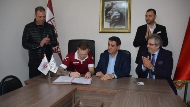 Bandırmaspor Droppa ile ön sözleşme imzalandı