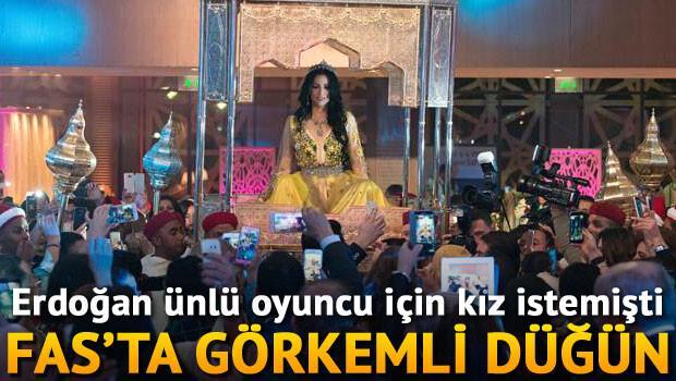 Erdoğan ünlü oyuncu için kız istemişti... Fasta görkemli düğün